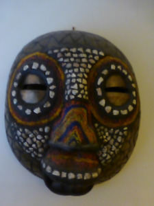 African Masks -have been danced