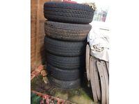 Mercedes Vito van rated tyres