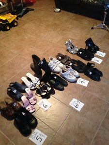 ASSORTED WOMENS SHOES-size 5-9