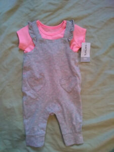 Carter's Baby Girl Jumpsuit with Shirt