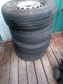 VW 195/65/15 wheels and tyres
