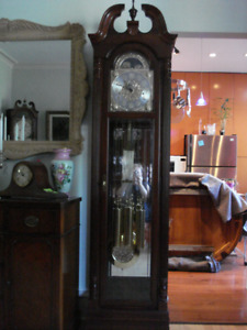Howard Miller Grandfather Clock- Warranty and Delivery