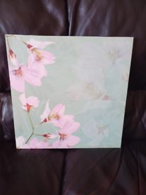 Small Floral Canvas