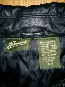 Mens medium leather jacket Kitchener / Waterloo Kitchener Area image 2