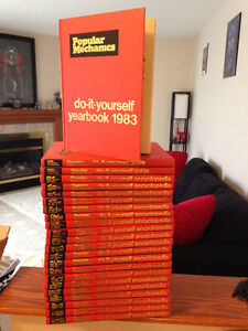 Popular Mechanics Do it Yourself Encyclopedia 1983 Print -23 set Stratford Kitchener Area image 2