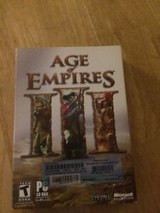 """Used PC game """"Age of Empires 3""""  MINT CONDITION"""