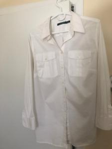 Ralph Lauren White Collar Shirt