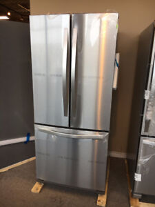 "30"" French door fridge"