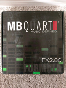 MB Quart Formula 2-Channel Car Amplifier FX2.80