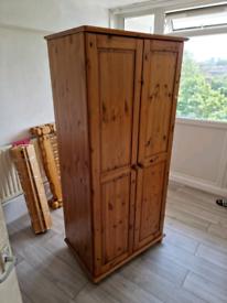 Hard wood wardrobe