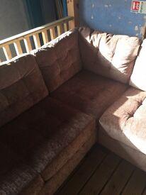 Farbric corner sofa