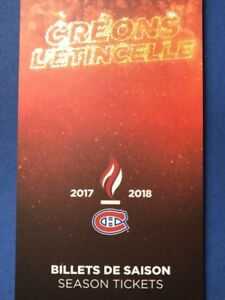 Billets de Hockey - Canadiens de Montréal - Hockey Tickets