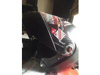 Brand new motorcycle helmet