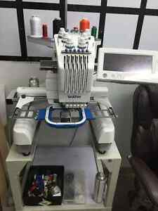 Brother industrial embroidery machine pr600ll