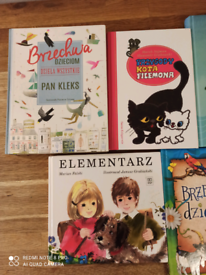 Collection of children's classics in Polish