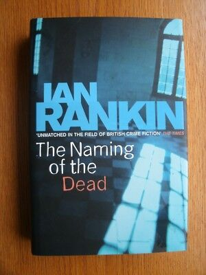Ian Rankin The Naming of the Dead 1st ed UK HC SIGNED Fine for sale  Shipping to India