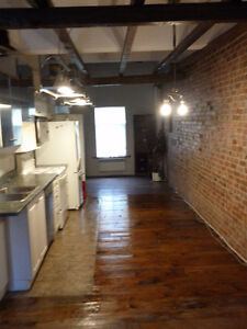 Antique Style (mixes with modern) Loft for rent with parking