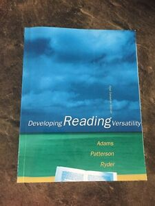 Developing Reading Versatility Book