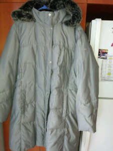Manteau taille forte 2x