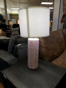 ASHLEY PINK DESIGN LAMPS