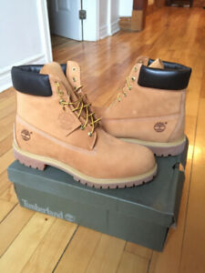 New Timberland 6-Inch Premium Boots (Size: 12 Men)