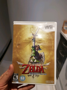 Zelda Wii skyward Sword