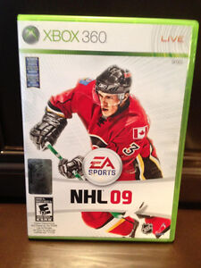 EA Sports NHL 09 XBox 360 Game In excellent condition Kitchener / Waterloo Kitchener Area image 1