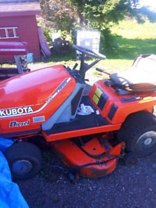 Kubota lawn tractor for sale