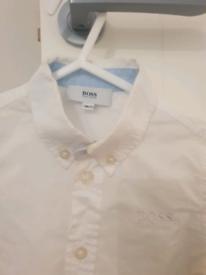Hugo Boss original stylish white Shirt for 9 months old.