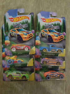 2015 Hot Wheels Happy Easter Complete Set of 6