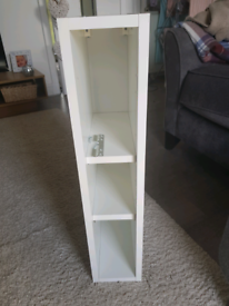 150mm White Wall Unit Carcass