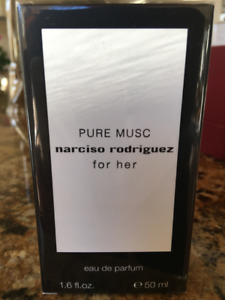 Narciso Rodriguez PURE MUSC for Her 50 ml Eau de Parfum SEALED