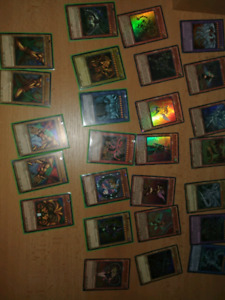 Yugi's Legendary Deck* and Movie Packs YuGiOh Cards