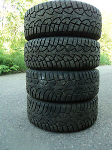 (4) 205/55R16 GENERAL ALTIMAX ARCTIC ON TOYOTA RIMS