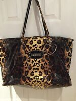 Large Leopard Guess Tote