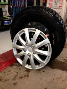Snow Tires: Toyo Observe GSI-5  94T and rims
