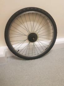 24inch rear bike wheel