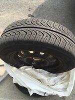 185/65/14 tire with rim like new