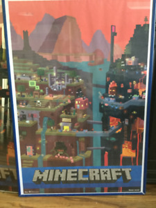 Minecraft Posters and Toys
