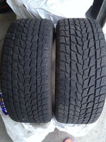 275 45 19 TOYO OPEN COUNTRY WINTER TIRES