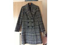 Top Shop women's winter coat (last winters range) UK 10