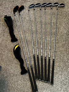 Goliath LH Set ,Driver,3w and 5 w,3&4 Hybrids,5-pw Irons & Bag