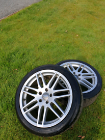 "Audi rs4 18""alloy wheels"