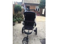 Quinny Quinny Buzz Xtra and Carrycot Rocking Black with Pebble Total Black