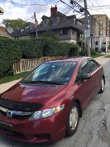 2009 Honda Civic Sedan--Excellent Condition