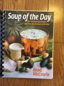 """SOUP OF THE DAY"" COOKBOOK"