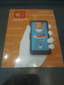 CB Consumer Behaviour Second Canadian Edition for MKT 400 SEALED