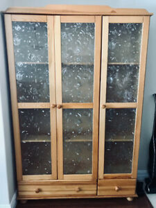 Moving sale . Cabinet measurements 7ft tall 4ft wide