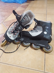 k2 stratus soft boot roller blades size 8