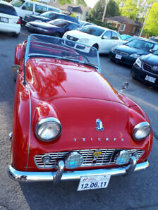 1960 TR3 ,VERY GOOD CONDITION, NOT A SHOW CAR,$21000